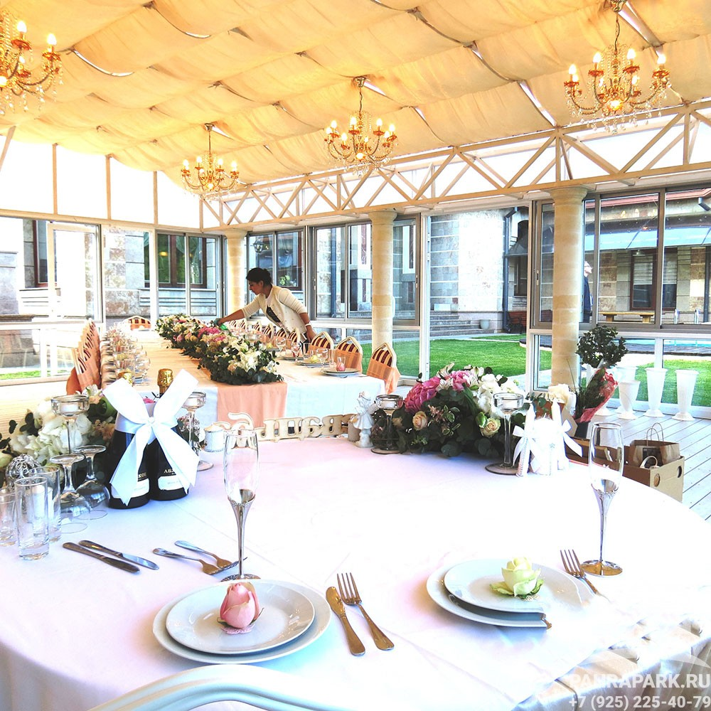Проведение свадеб, торжеств